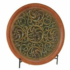 DECORATIVE CHARGER PLATE WITH STAND - CHARGER PLATE - HOME DECOR - TABLE DECOR  sc 1 st  eBay & Antique Style Decorative Plates | eBay