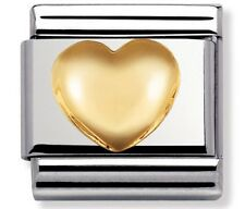 Nomination Charm Raised Heart RRP £20