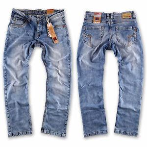 Timezone Herren Jeans Hose Eduardo TZ 3978  blue wash Größe wählbar  NEW