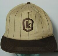 Old Vintage 1990s KELTGEN FARM SEED SNAPBACK TRUCKER HAT MADE IN THE USA