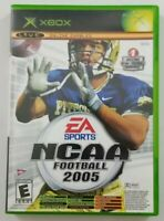 NCAA Football 2005 Xbox Game Top Spin Edition