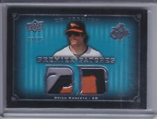 BRIAN ROBERTS 2008 Upper Deck Premier Patches Jersey Patch #32/75 #PP2-BR (C7120