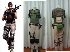 "Resident Evil 5""Chris Redfield cosplay costume"