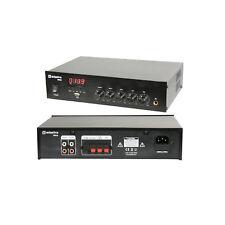 100V Line Mixer Amp (25W w/ USB, FM & Bluetooth)