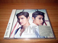 DBSK TVXQ Tohoshinki 6th Japanese Album TIME (CD) (Japan Version) SEALED