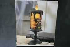 ANIMATED LED HALLOWEEN WITCH BATTERY TORNADO CANDLE WITH TIMER - NEW IN BOX