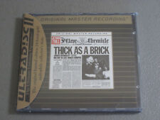 Jethro Tull - Thick As A Brick- MFSL CD (24KT Gold Disc, Remastered) New
