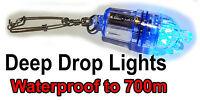 GREEN Deep Drop LED Fishing Light. 700M Deep Sea Light. BlueEye, Harpuka, Swords