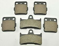 Front & Rear Brake Pads For YAMAHA Grizzly 660 YFM660F (2002-2008)
