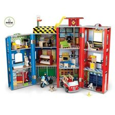 Kidkraft Everyday Heroes Police and Fire Play Set 63239 out
