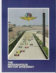1993 INDIANAPOLIS MOTOR SPEEDWAY INFORMATION BOOKLET - INDY 500 - AL UNSER, JR