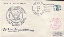USS Platte AO 186 First Day Postal Service 1983 Cachet by Reeves