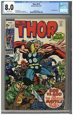 Thor #177 CGC 8.0