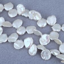 Ivory White Keishi Keshi Cornflake Freshwater Pearls Beads for Jewellery Making