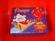 PRESEPE Kinder Sorpresa 1997 Confezione Regalo Completo Capanna 9 personaggi