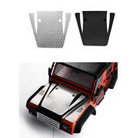 1/10 RC Auto Metall Motor Hood Skid Plate Für TRX4 Land Rover Defender Crawler