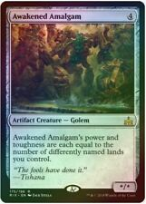 1 x Awakened Amalgam - Foil - Rivals of Ixalan - LP - Magic The Gathering - MTG