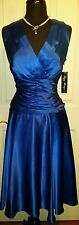 Brand New Size 14 Cocktail Dress Prom / Party / Bridal / Dance, Royal Blue
