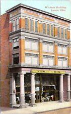 Lorain Ohio Wickens Furniture Store Buiding 1913 Postcard