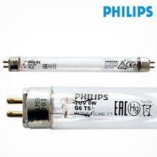 Philips TUV 6W G6T5 Bombilla Tubo Corto Onda Germicida Ultra Violeta Filtro UV