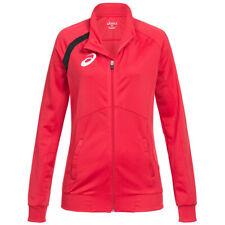ASICS Track Top Damen Fitness Sport Trainingsjacke 134900-0600 Gr XS rot neu