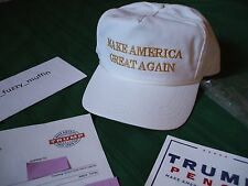 Trump Make America Great Again hat GOLD Authentic USA made MAGA issue #UltraRARE