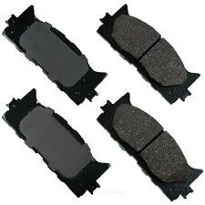 Disc Brake Pad Set-ProACT Ultra Premium Ceramic Pads Front Akebono ACT1222