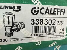 """CALEFFI 338302 3/8"""" Valvola termostatizzabile, attacchi a squadra"""