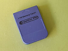 Metallic Blue Compeition Pro 1Mb Memory Card For Sony Playstation 1 PS1