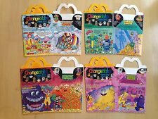 1988 McDonald's Happy Meal Box, Changeables, Set of 4