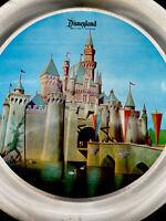 "Vintage Walt Disney Productions Disneyland Tin Tray Sleeping Beauty Castle 11"""