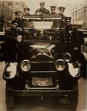 Rare Still  NEW YORK CITY POLICE DEPARTMENT RADIO CAR WITH COPS 1930S