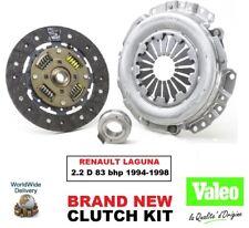 VALEO Kit embrayage pour Renault Laguna 2.2 D 83 BHP 1994-1998 3 pièces 220mm