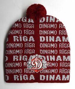 Dinamo Riga Latvian Ice Hockey Club Beanie Hat (ver.2)