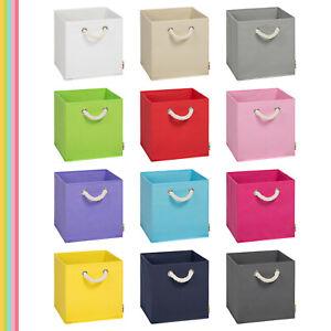 (Storanda) Aufbewahrungsbox LEO | Faltbox | Korb | 30x30x30 cm | Neuware