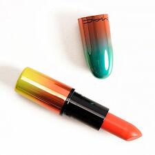 "MAC Lipstick ""Morange"" (vivid orange) Wash & Dry Collection LE NIB"