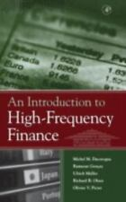 An Introduction to High-Frequency Finance by Ulrich Muller, Ramazan Gençay,...