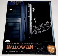 JAMES JUDE COURTNEY Signed 2018 HALLOWEEN 11x14 Photo Autograph JSA COA PROOF