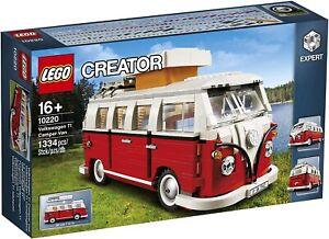 Lego 10220 EXCLUSIVE Volkswagen T1 Camper Van - New Sealed