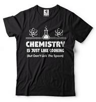 Gift For Chemist Funny T-shirt Cool Chemistry Teacher Gift Chemistry Funny Tees