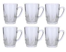 Alpine Cuisine Set Of 6 Glass Tea Cups 8 Ounces Each