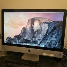 Apple iMac 27-Inch 3.1GHz Core i5 (I5-2400) 4GB 1TB AMD Radeon HD 6970M - USED
