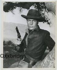 TONY YOUNG Handsome Portrait Gunslinger RARE 1961 ORIGINAL Photo Western J3650