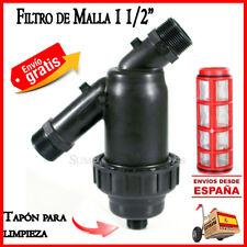 "Filtro de malla 50mm para sistemas de riego Irritec 1 1/2"" Filtro goteo filter"