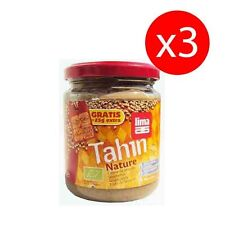 PACK 3 unds TAHIN ECOLOGICO SIN SAL NATURE 225 gr LIMA