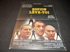 lino ventura ESPION LEVE TOI yves boisset m piccoli   ! affiche cinema 1981