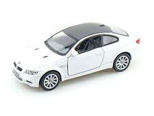 Kinsmart BMW M3 Coupe Die-cast pull back Action Metal Car (White)