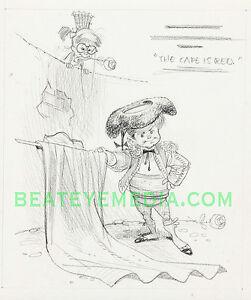 JACK DAVIS Original Art-Comic Art-MAD MAGAZINE-EC COMIC-COMIC BOOK-illustration