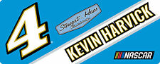 NASCAR #4 Kevin Harvick Bumper Sticker-NASCAR Decal