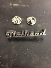 Harley Flathead 45 WLA Motorcycle Engine Pin Jacket Leather Vest Shirt Hat Tank